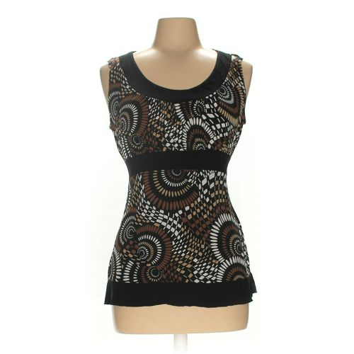 Perceptions Sleeveless Top in size L at up to 95% Off - Swap.com