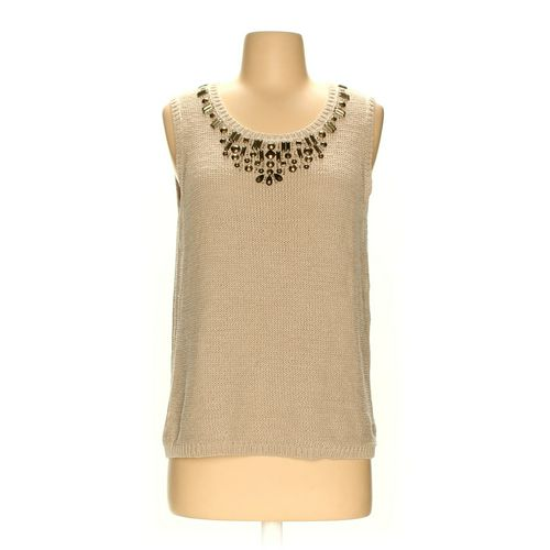 Samantha Grey Sleeveless Top in size S at up to 95% Off - Swap.com