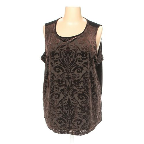 Susan Graver Sleeveless Top in size 3X at up to 95% Off - Swap.com