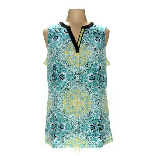 Susan Graver Sleeveless Top in size L at up to 95% Off - Swap.com