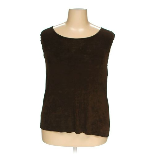 The Travel Collection Sleeveless Top in size 2X at up to 95% Off - Swap.com