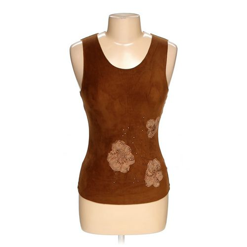 Velvet Sleeveless Top in size M at up to 95% Off - Swap.com