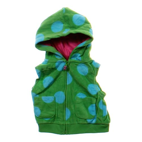 Carter's Sleeveless Zip-up Hoodie in size 6 mo at up to 95% Off - Swap.com