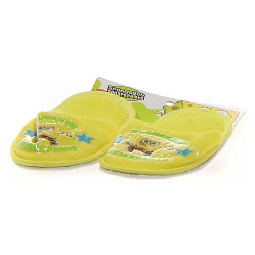 SpongeBob SquarePants Slippers in size 7 Toddler at up to 95% Off - Swap.com