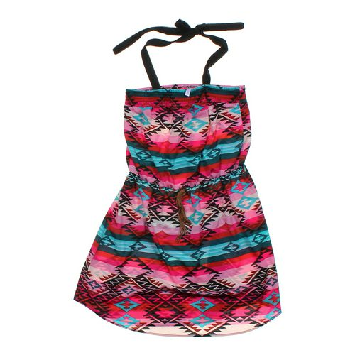 Xhilaration Smocked Dress in size JR 15 at up to 95% Off - Swap.com