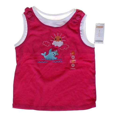 Gymboree Smocked Layered Tank Top in size 5/5T at up to 95% Off - Swap.com
