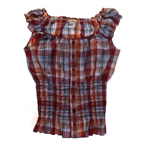 Fashion Magazine Smocked Tank Top in size JR 11 at up to 95% Off - Swap.com