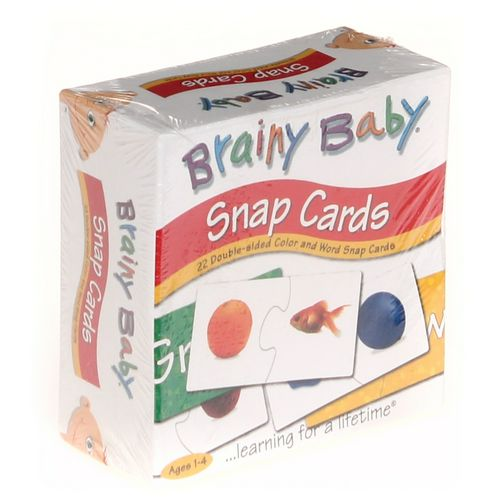 Brainy Baby Snap Cards at up to 95% Off - Swap.com
