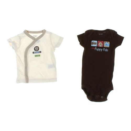 Carter's Snap-up Shirt & Bodysuit Set in size NB at up to 95% Off - Swap.com