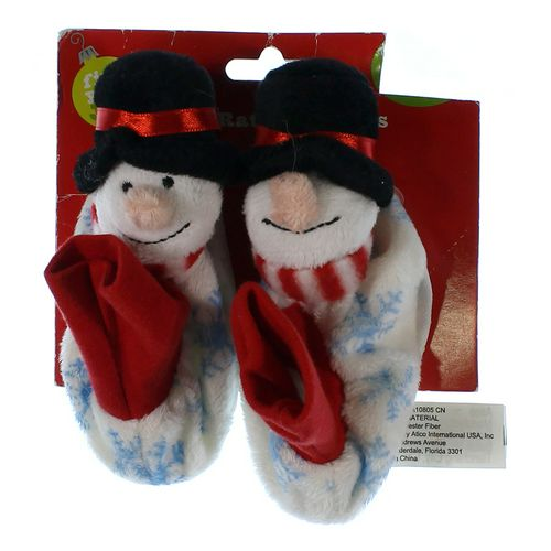 Snowman Rattle Slippers in size 0 Infant at up to 95% Off - Swap.com