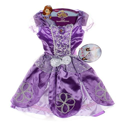 Disney Sofia The First Costume in size 4/4T at up to 95% Off - Swap.com