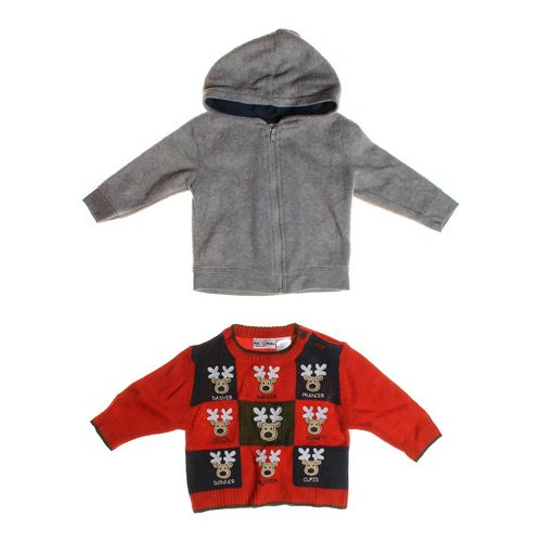 Garanimals Soft Hoodie & Reindeer Sweater in size 3 mo at up to 95% Off - Swap.com
