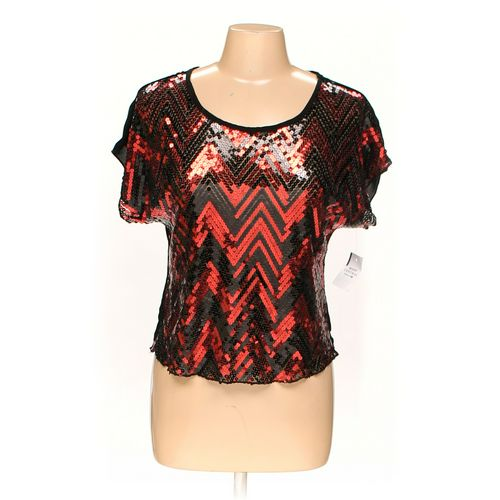 Body Central Sparkling Shirt in size M at up to 95% Off - Swap.com