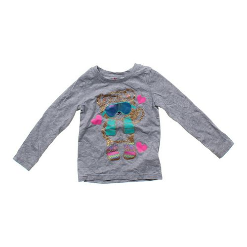 Circo Sparkly Bear Shirt in size 4/4T at up to 95% Off - Swap.com