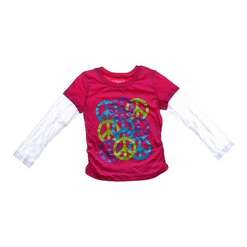 Bobbie Brooks Sparkly Peace Shirt in size 4/4T at up to 95% Off - Swap.com