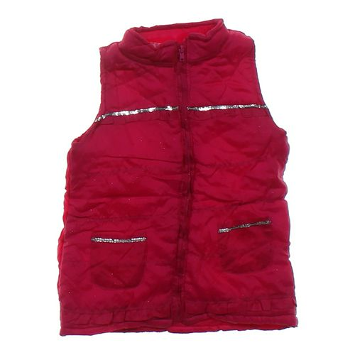 Young Hearts Sparkly Puffy Vest in size 5/5T at up to 95% Off - Swap.com