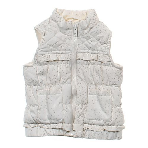The Children's Place Sparkly Ruffled Vest in size 12 mo at up to 95% Off - Swap.com