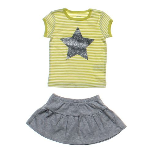 Carter's Sparkly Shirt and Skirt Set in size 12 mo at up to 95% Off - Swap.com