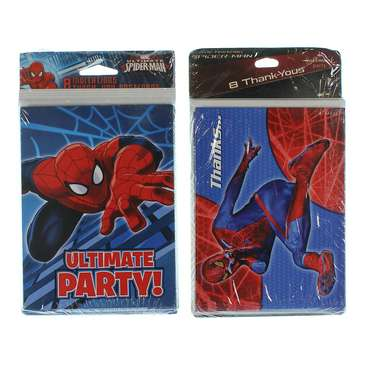 Spider-Man Invitations and Thank You Cards for Sale on Swap.com