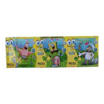 SpongeBob 3 in 1 Panoramic Puzzle for Sale on Swap.com