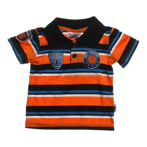 Kid Zone Sporty Polo Shirt in size 6 mo at up to 95% Off - Swap.com