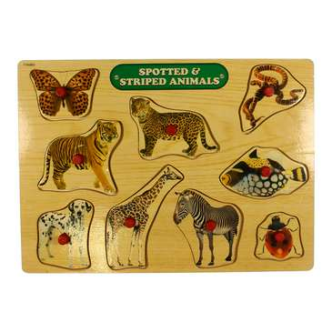Spotted & Striped Animals Puzzle for Sale on Swap.com