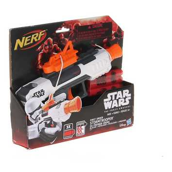Star Wars: Episode VII The Force Awakens First Order Stormtrooper Blaster by Nerf for Sale on Swap.com