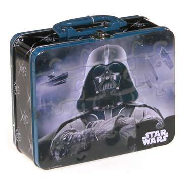 Star Wars Lunch Box Tin with Handle Jigsaw Puzzle - 24-Piece Puzzle for Sale on Swap.com