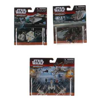 Star Wars The Force Awakens Micro Machines Deluxe Vehicle Pack Trench Run for Sale on Swap.com