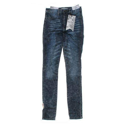 Crave Fame Stonewashed Jeans in size JR 5 at up to 95% Off - Swap.com