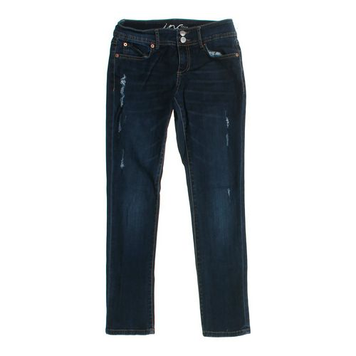 INC Denim Straight Leg Jeans in size JR 0 at up to 95% Off - Swap.com