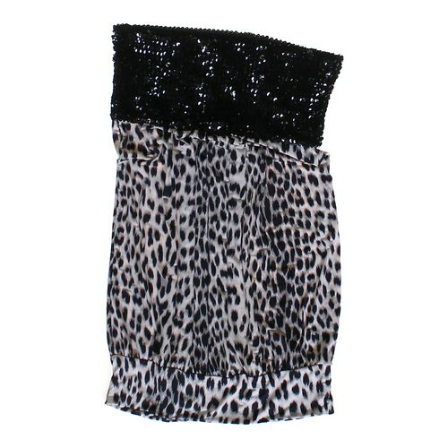 Forever 21 Strapless Animal Print Dress in size JR 7 at up to 95% Off - Swap.com