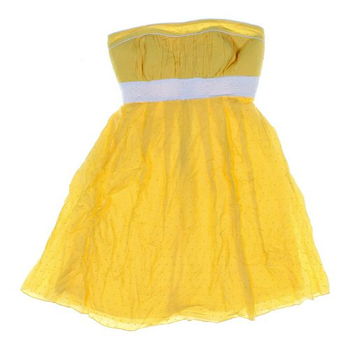 Sequin Hearts Strapless Dress in size JR 3 at up to 95% Off - Swap.com