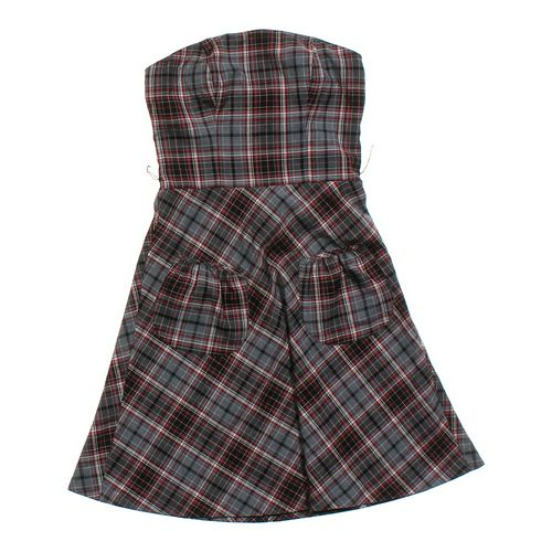 Speechless Strapless Dress in size JR 3 at up to 95% Off - Swap.com