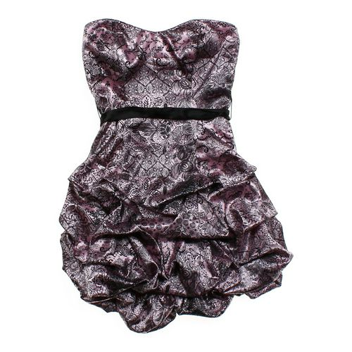 Ruby Rox Strapless Patterned Bubble Dress in size JR 3 at up to 95% Off - Swap.com