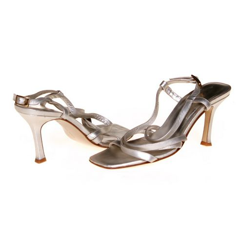 Martinez Valero Strappy Heels in size 6.5 Women's at up to 95% Off - Swap.com