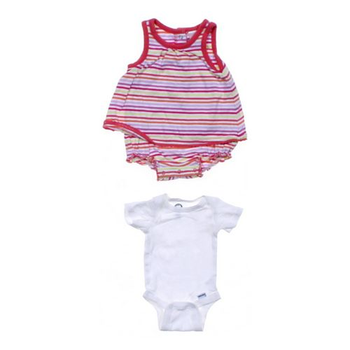 Old Navy Striped & Basic Bodysuit Set in size NB at up to 95% Off - Swap.com