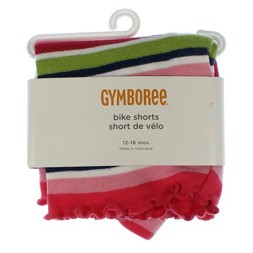 Gymboree Striped Bike Shorts in size 12 mo at up to 95% Off - Swap.com