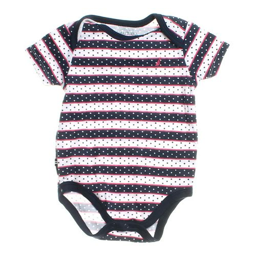 Nautica Striped Bodysuit in size 6 mo at up to 95% Off - Swap.com