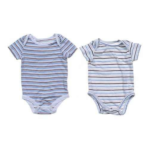 Faded Glory Striped Bodysuit Set in size 3 mo at up to 95% Off - Swap.com