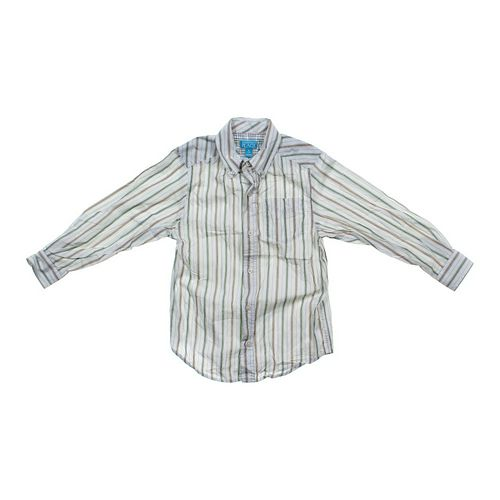 The Children's Place Striped Button-down Shirt in size 7 at up to 95% Off - Swap.com