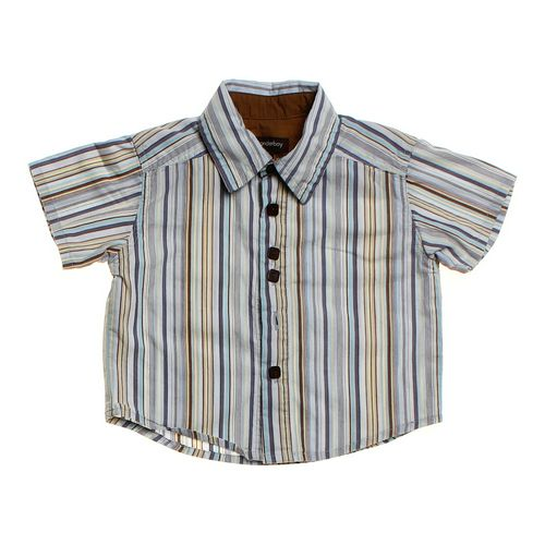 Wonderboy Striped Button-up in size 6 mo at up to 95% Off - Swap.com