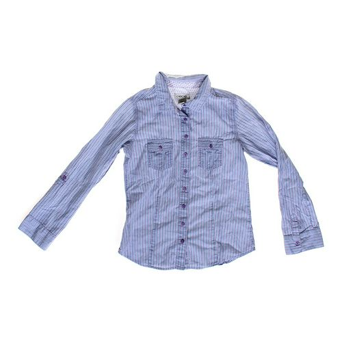 Cherokee Striped Button-up in size 10 at up to 95% Off - Swap.com