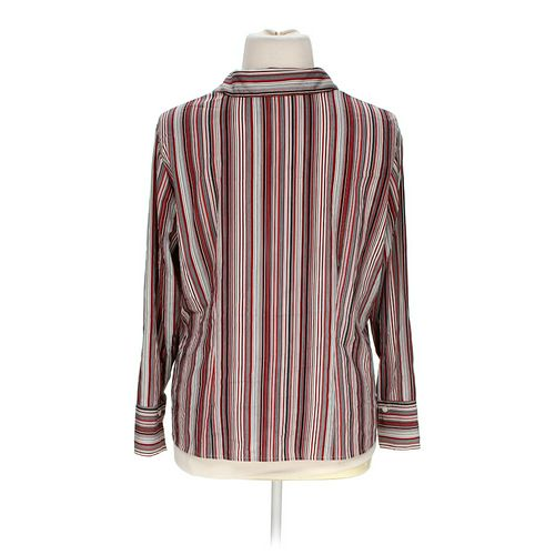 Apt. 9 Striped Button-up Shirt in size 1X at up to 95% Off - Swap.com