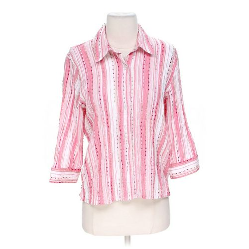 Breckenridge Striped Button-up Shirt in size S at up to 95% Off - Swap.com