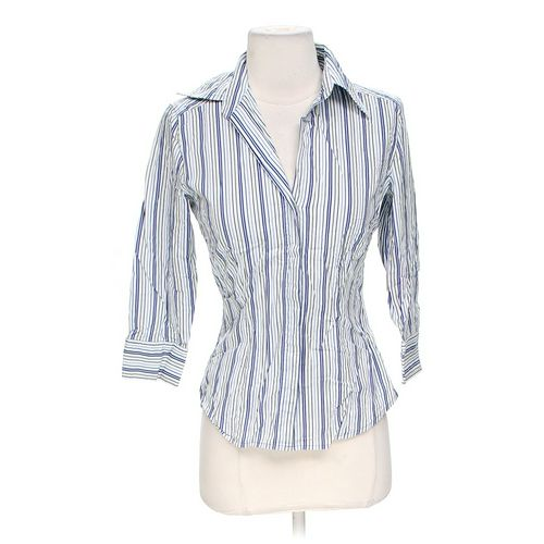 Express Striped Button-up Shirt in size XS at up to 95% Off - Swap.com
