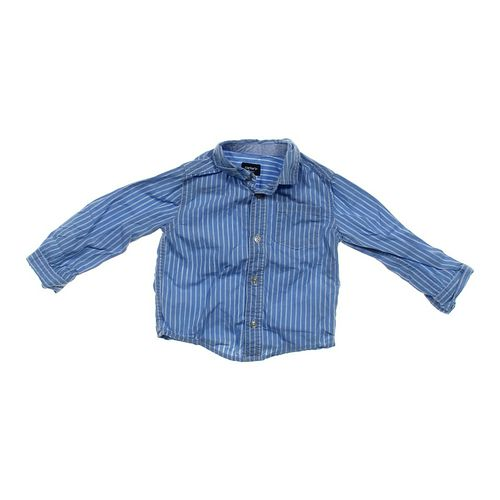 Carter's Striped Button-up Shirt in size 24 mo at up to 95% Off - Swap.com