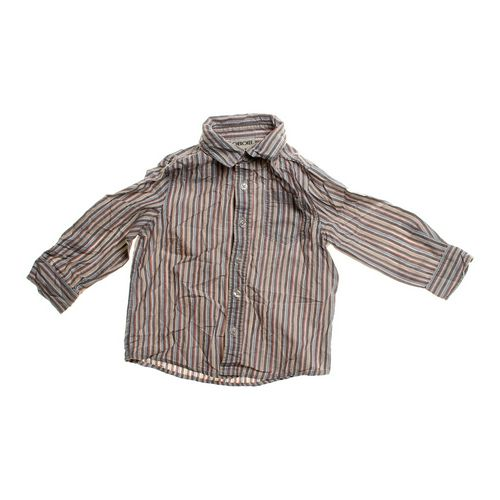 Cherokee Striped Button-up Shirt in size 3/3T at up to 95% Off - Swap.com