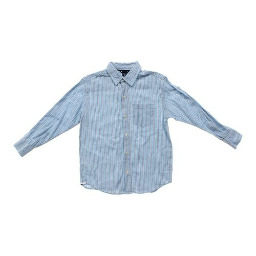 Gap Striped Button-up Shirt in size 8 at up to 95% Off - Swap.com