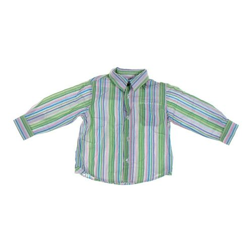 GEORGE Striped Button-up Shirt in size 24 mo at up to 95% Off - Swap.com
